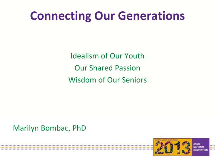 connecting our generations n.
