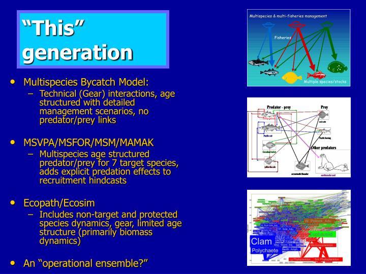 """This"" generation"