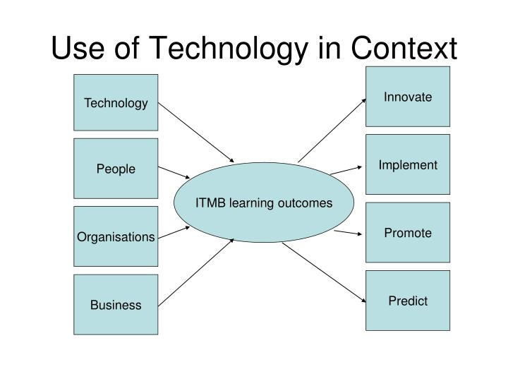 Use Of Technology Management: BSc Information Technology Management For Business