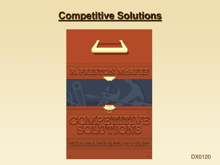 competitive solutions n.