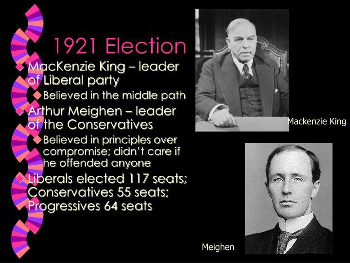 1921 election