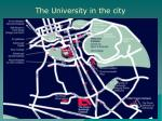 the university in the city