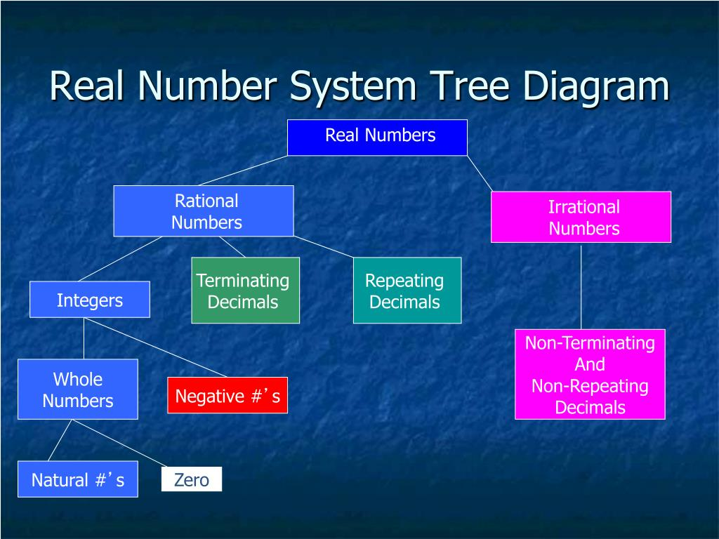 Ppt - The Real Number System Powerpoint Presentation  Free Download