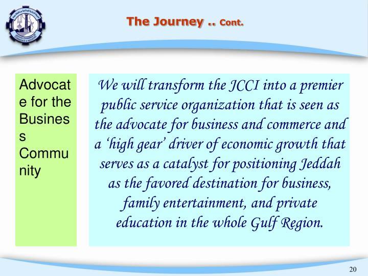 The Journey ..
