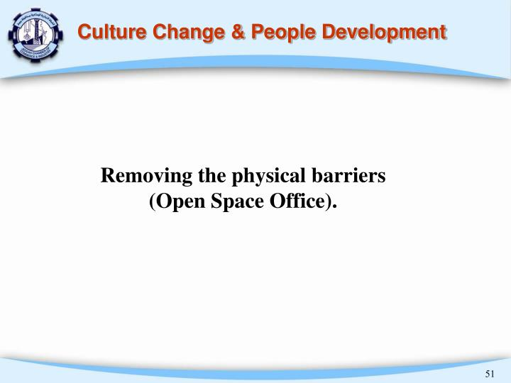 Culture Change & People Development