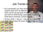 job trends etc