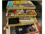 medication box