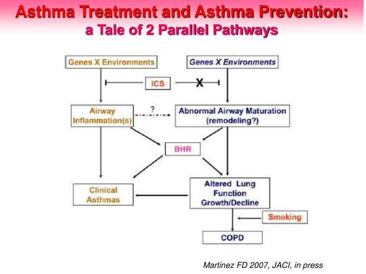Asthma Treatment and Asthma Prevention: