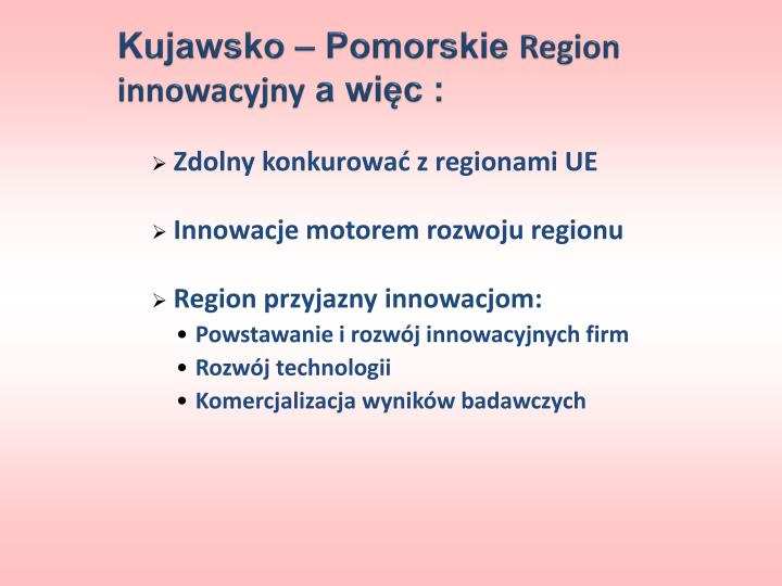 Kujawsko – Pomorskie