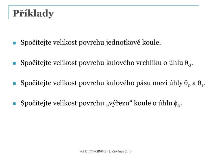 P klady