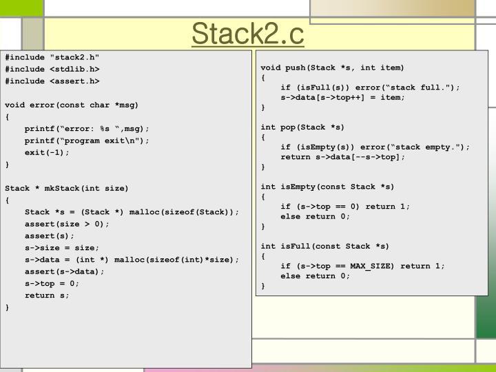 Stack2.c