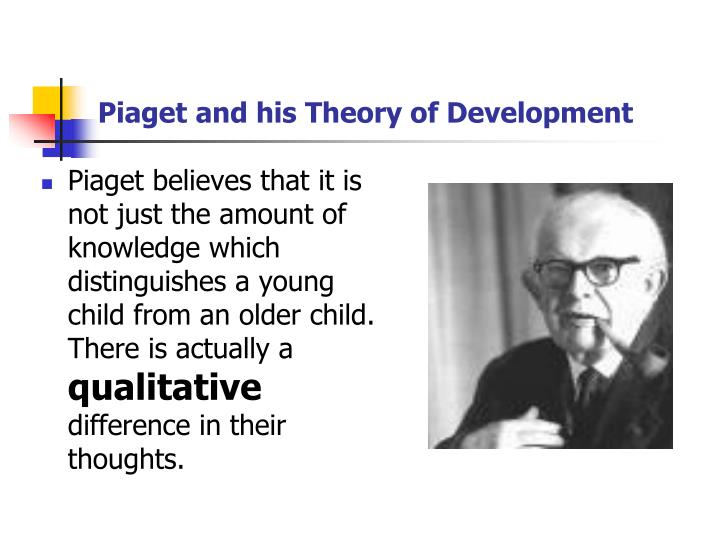 Piaget and his theory of development