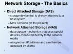 network storage the basics