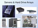 servers hard drive arrays
