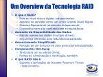um overview da tecnologia raid