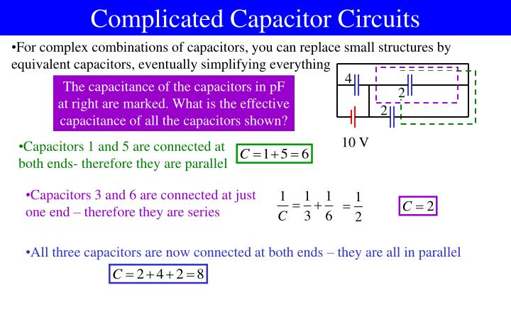 Complicated Capacitor Circuits