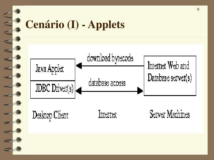 Cenário (I) - Applets