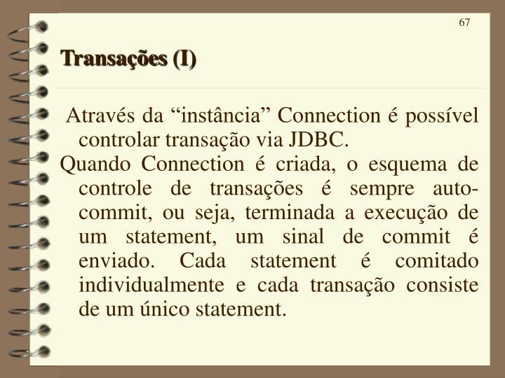 Transações (I)