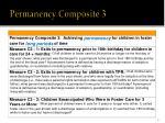 permanency composite 3