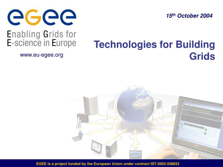 technologies for building grids n.