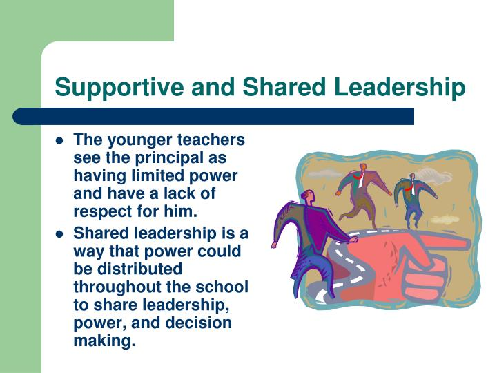 Supportive and Shared Leadership