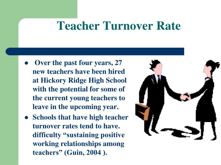 Over the past four years, 27 new teachers have been hired at Hickory Ridge High School with the potential for some of the current young teachers to leave in the upcoming year.