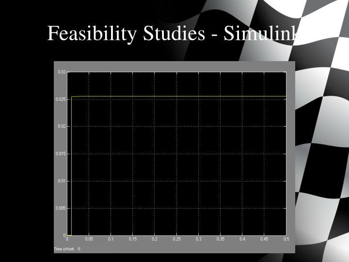 Feasibility Studies -