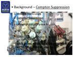 background compton suppression1