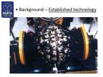 background established technology