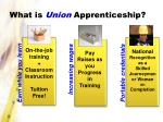 what is union apprenticeship