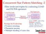 concurrent star pattern matching 2