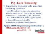 pig data processing