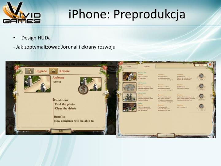 iPhone: Preprodukcja
