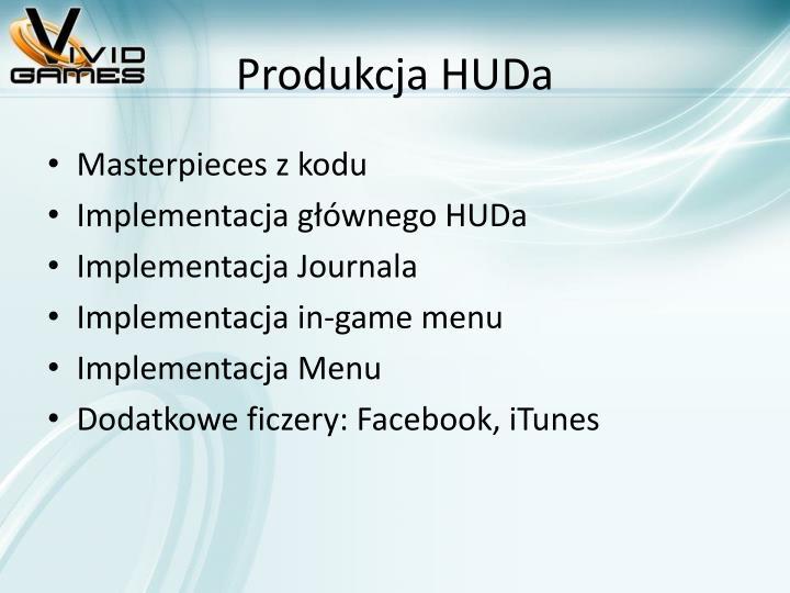 Produkcja HUDa