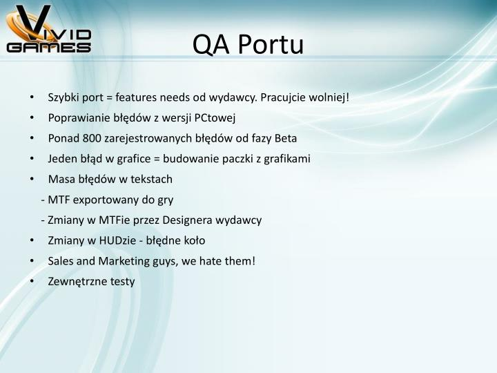 QA Portu