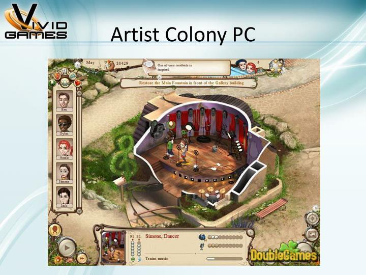 Artist Colony PC