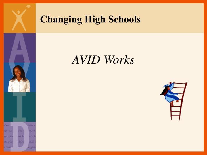 Changing High Schools