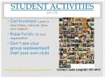 student activities stc 252