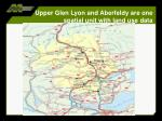 upper glen lyon and aberfeldy are one spatial unit with land use data