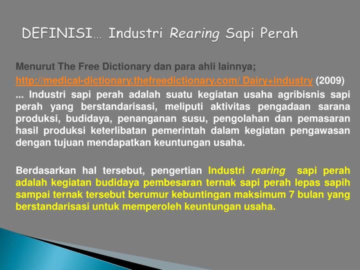 definisi masyarakat industri