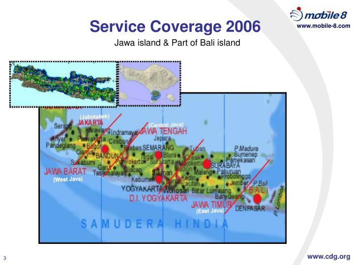 Service Coverage 2006