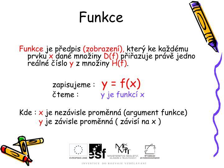 Funkce1