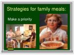 strategies for family meals1