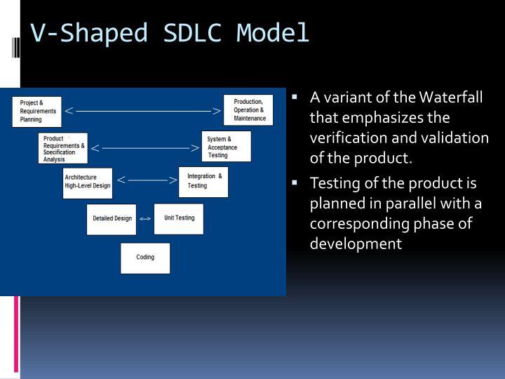 V-Shaped SDLC Model
