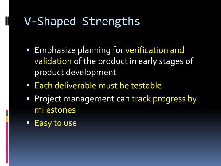 V-Shaped Strengths