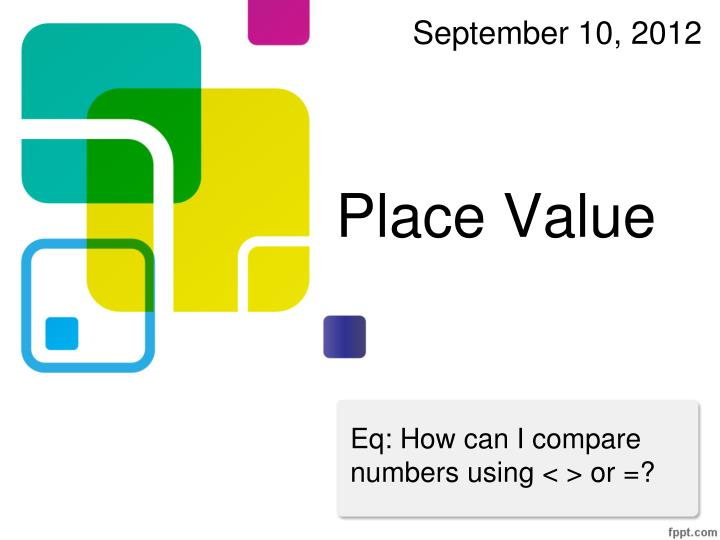 place value n.