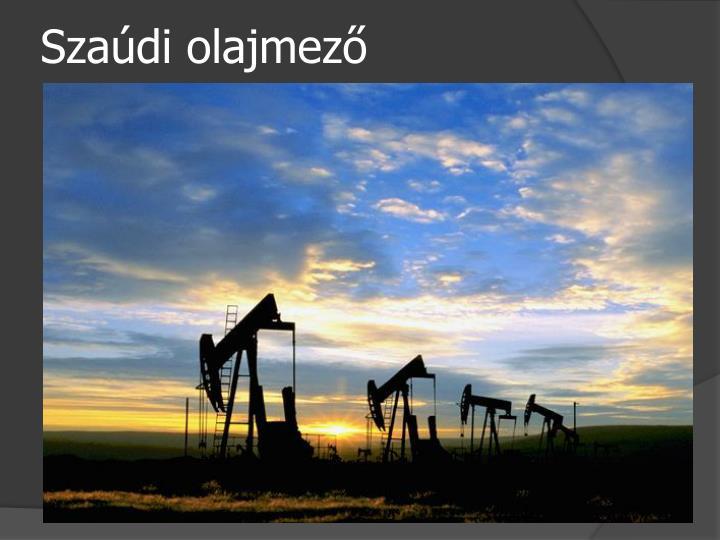 Szaúdi olajmező
