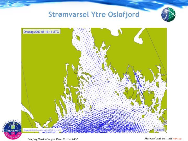 Strømvarsel Ytre Oslofjord