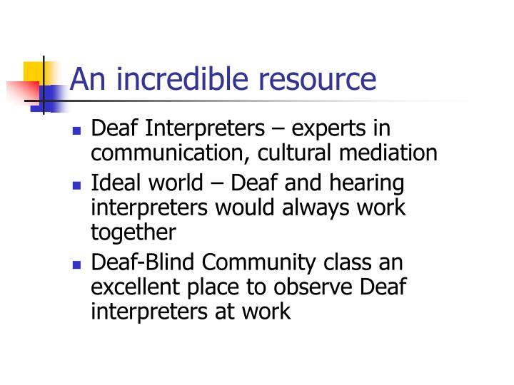 An incredible resource