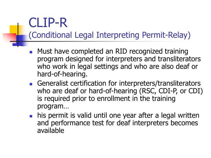 CLIP-R